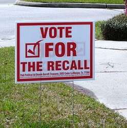 Applying Recall to the electoral Process
